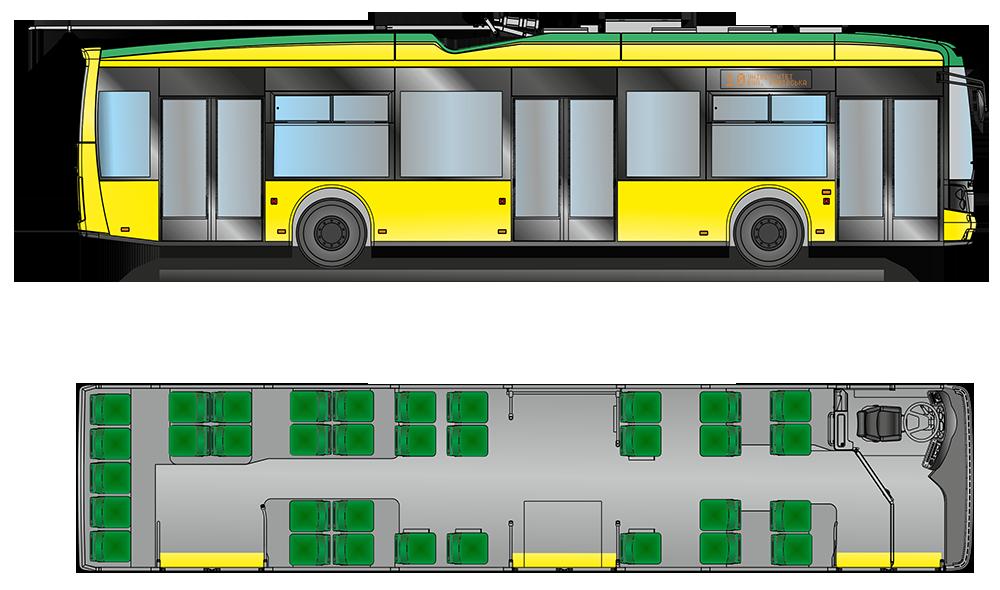 Электробус и троллейбус «